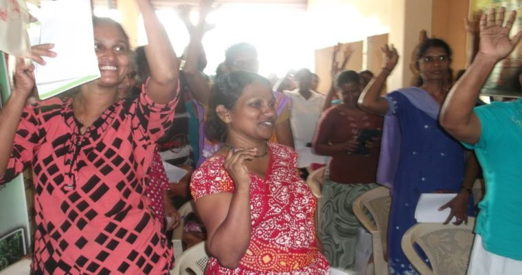 SRI LANKA: From living in isolation to becoming a woman farmer leader