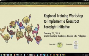 video grassroots foresight training workshop