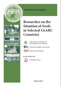 researches on the situation of seeds in selected saarc countries