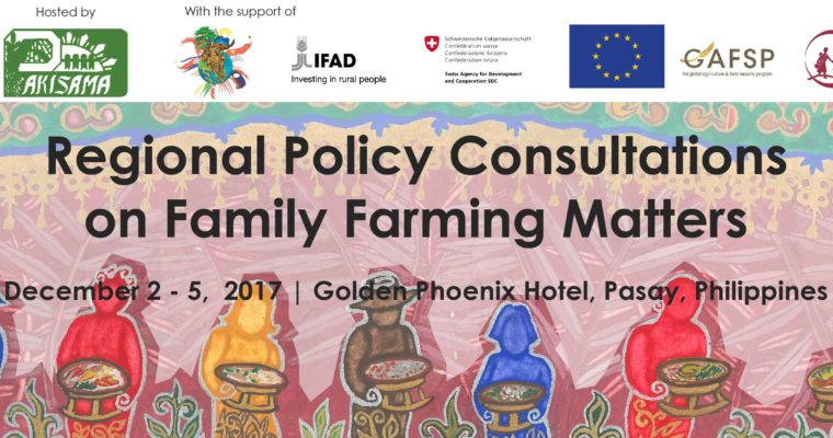 Regional Policy Consultations on Family Farming Matters