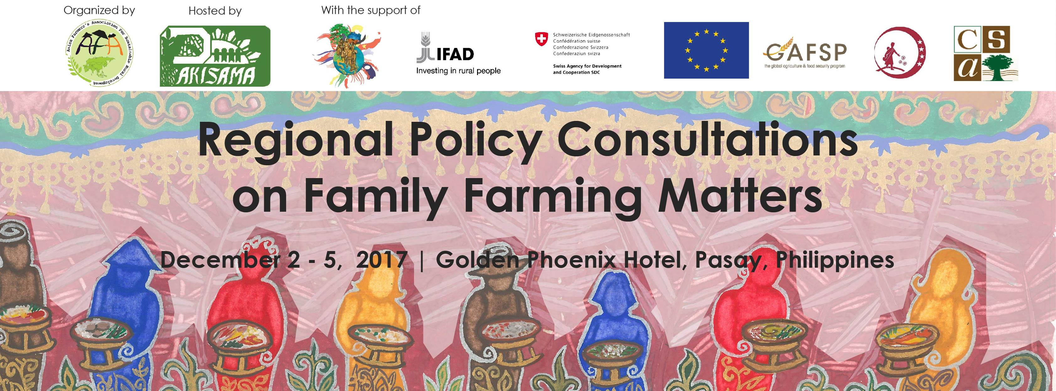Regional Policy Consultations on Family Farming Matter
