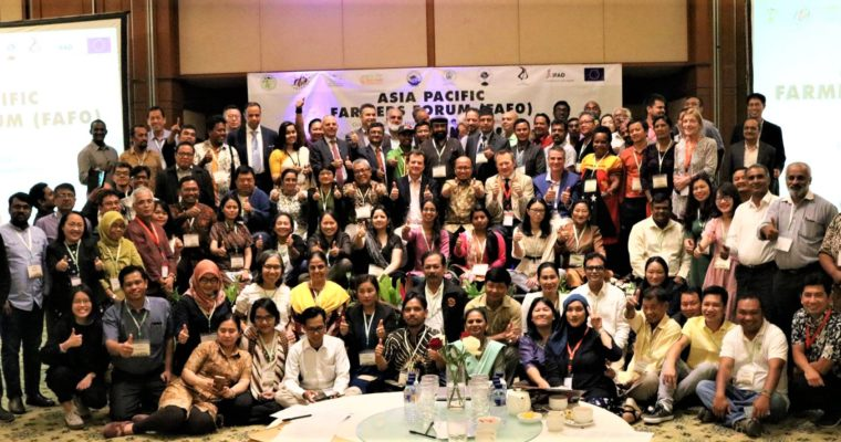 First Asia Pacific Region Farmers Forum (FaFo)