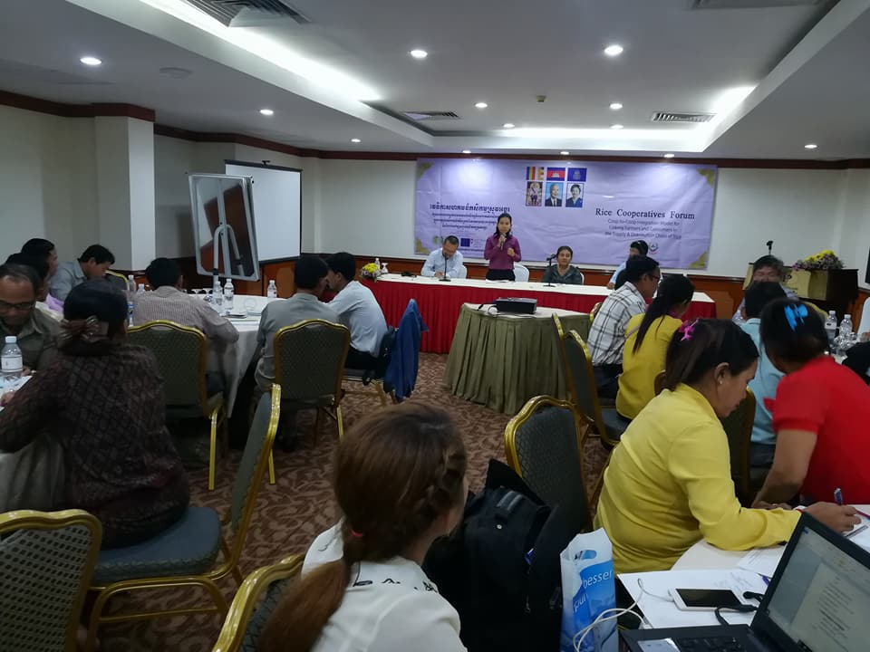 AFA co-organizes Rice Cooperative Forum in Cambodia – Asian Farmers