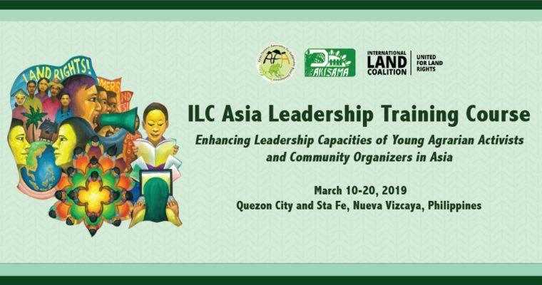 ILC Asia Leadership Training Course